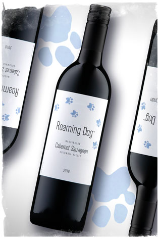2018 Roaming Dog Cabernet Sauvignon - Columbia Valley Wine - Roaming Dog Wines