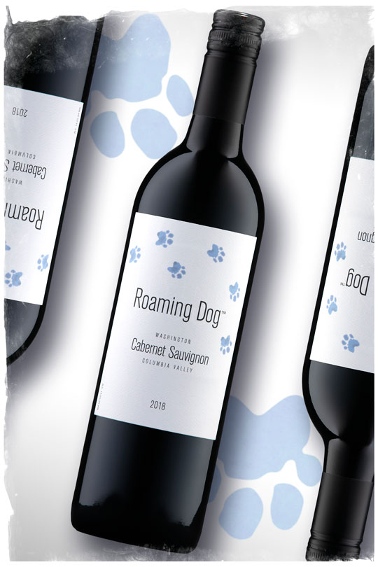 2018 Roaming Dog Cabernet Sauvignon - Columbia Valley