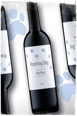 2018 Roaming Dog Red Blend - Columbia Valley Wine - Roaming Dog Wines