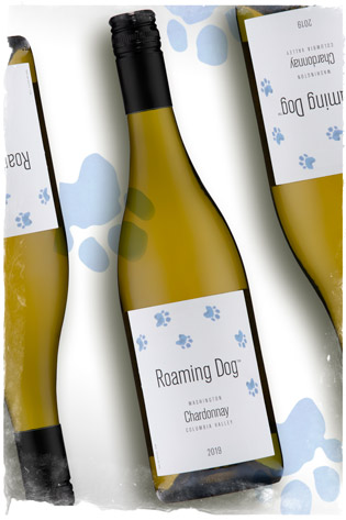 2019 Roaming Dog Chardonnay - Columbia Valley Wine - Roaming Dog Wines