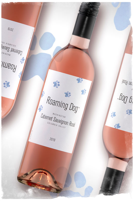 2019 Roaming Dog Rosé - Columbia Valley Wine - Roaming Dog Wines